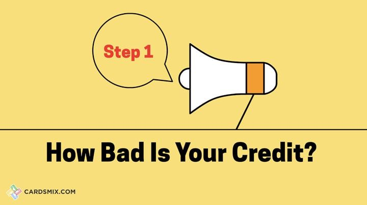Check how bad is your credit